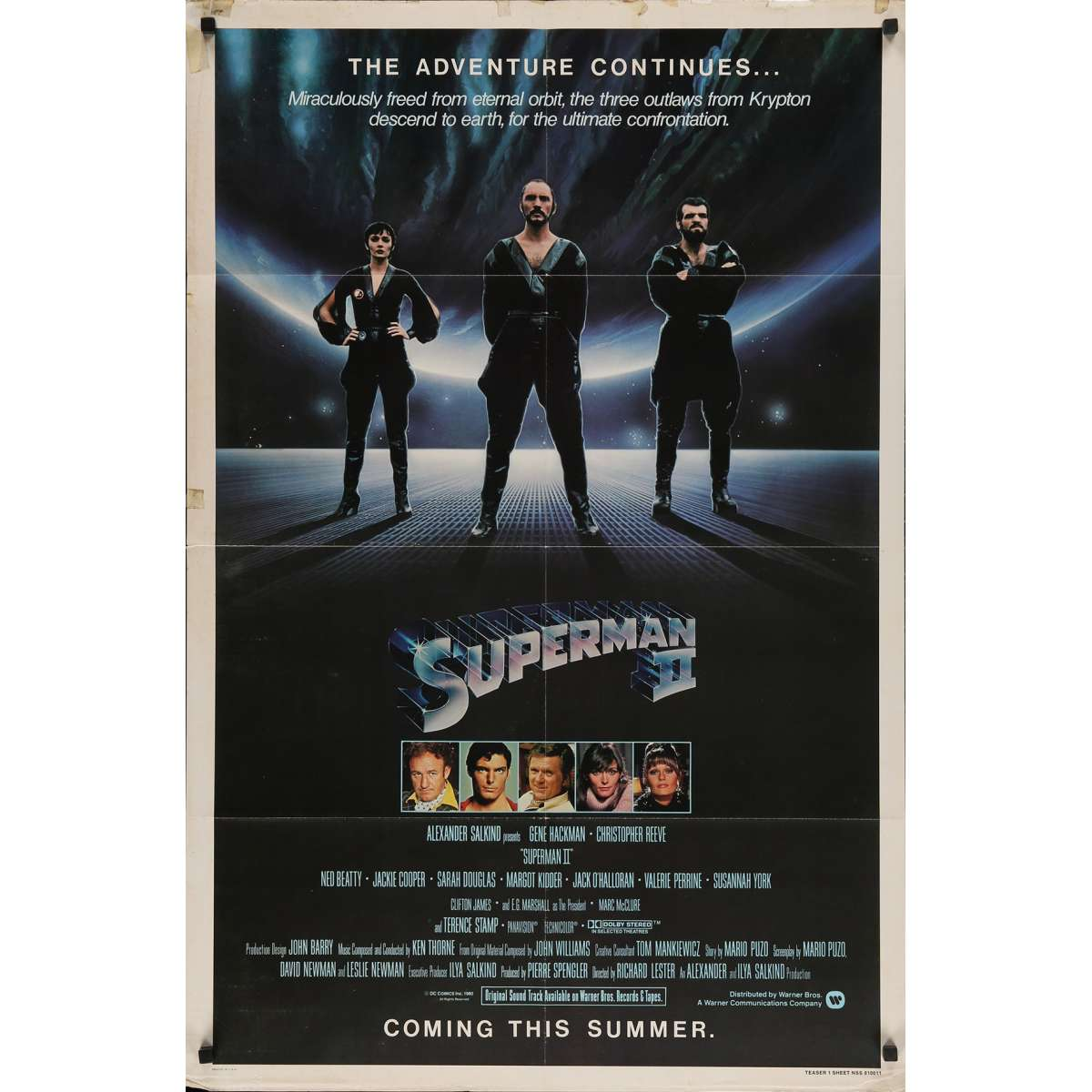 Superman 2 Us Movie Poster