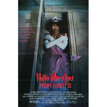 HELLO MARY LOU : PROM NIGHT II Original Movie Poster - 27x41 in. - 1987 - Bruce Pittman, Lisa Schrage