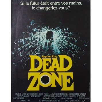 DEAD ZONE Original Movie Poster - 15x21 in. - 1984 - David Cronenberg, Christopher Walken