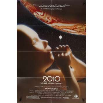 2010 Original Movie Poster - 27x41 in. - 1984 - Peter Hyams, Roy Sheider
