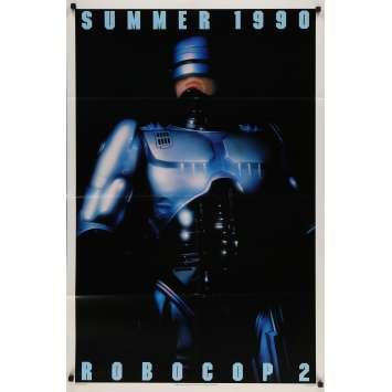 ROBOCOP 2 Original Movie Poster DS - 27x41 in. - 1990 - Irvin Kershner, Peter Weller