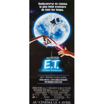 E.T. THE EXTRA-TERRESTRIAL Original Movie Poster - 23x63 in. - R2000 - Steven Spielberg, Dee Wallace