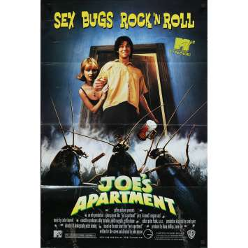 JOE'S APPARTMENT Original Movie Poster - 27x41 in. - 1996 - John Payson, Jerry O'Connell