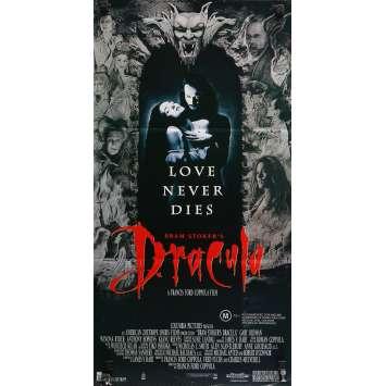 DRACULA Affiche de film - 33x78 cm. - 1992 - Gary Oldman, Winona Ryder, Francis Ford Coppola