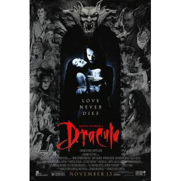 BRAM STOKER'S DRACULA Original Movie Poster - 27x41 in. - 1992 - Francis Ford Coppola, Gary Oldman, Winona Ryder
