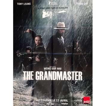 THE GRANDMASTER / YI DAI ZONG SHI Original Movie Poster - 47x63 in. - 2013 - Kar-Wai Wong, Tony Leung