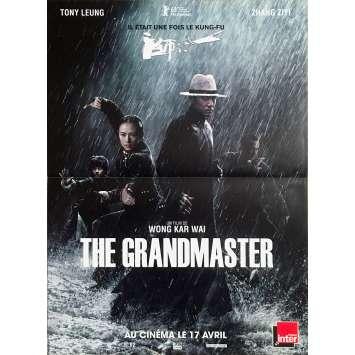 THE GRANDMASTER / YI DAI ZONG SHI Original Movie Poster - 15x21 in. - 2013 - Kar-Wai Wong, Tony Leung