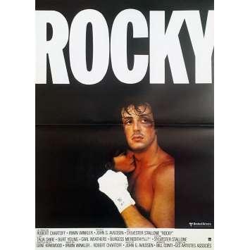 ROCKY Original Movie Poster - 15x21 in. - R1990 - John G. Avildsen, Sylvester Stallone