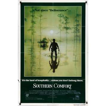 SOUTHERN COMFORT Original Movie Poster - 27x41 in. - 1981 - Walter Hill, Power Boothe