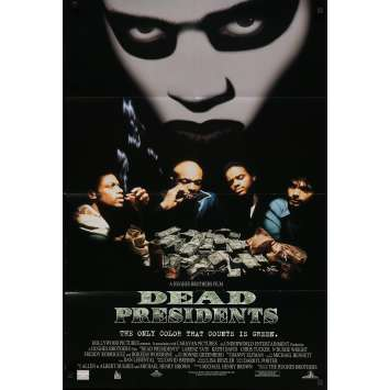 DEAD PRESIDENTS Original Movie Poster - 27x41 in. - 1995 - Albert Hughes, Larenz Tate
