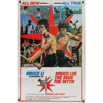 BRUCE LEE THE MAN THE MYTH Original Movie Poster - 27x41 in. - 1976 - See-Yuen Ng, David Chow