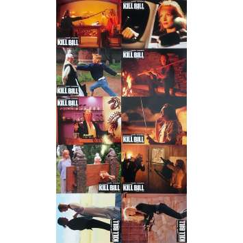 KILL BILL 2 Photos de film x10 - 21x30 cm. - 2004 - Uma Thurman, Quentin Tarantino