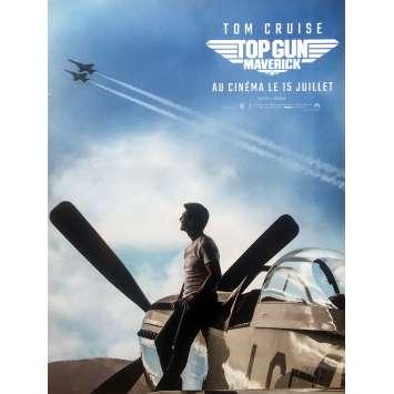 TOP GUN: MAVERICK Affiche de film Préventive - 40x60 cm. - 2020 - Tom Cruise, Joseph Kosinski