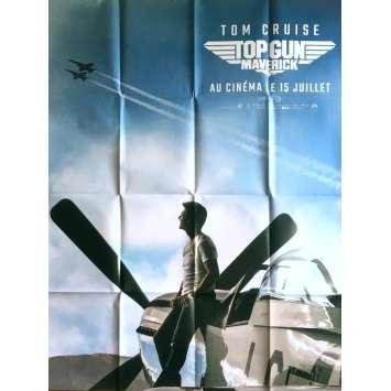 TOP GUN: MAVERICK Affiche de film Préventive - 120x160 cm. - 2020 - Tom Cruise, Joseph Kosinski