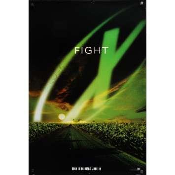 X-FILES Affiche de film US signée par DAVID DUCHOVNY - 69x104 cm. - 1998
