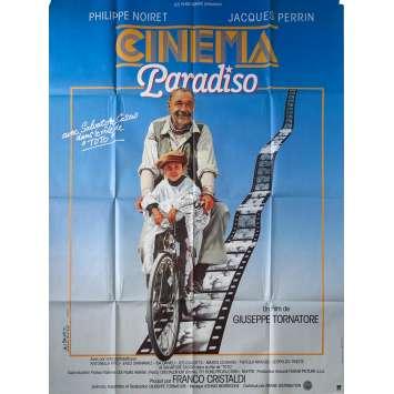 CINEMA PARADISO Affiche de film 120x160 cm - 1988 - NEUVE! Tornatore