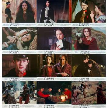 THE STORY OF ADELE H. Original Lobby Cards - 9x12 in. - 1975 - François Truffaut, Isabelle Adjani