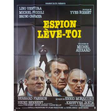 ESPION LEVE TOI Original Movie Poster - 47x63 in. - 1982 - Yves Boisset, Lino Ventura
