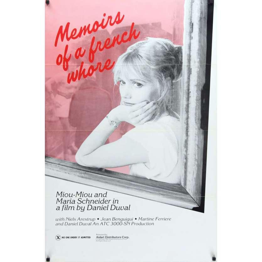 LA DEROBADE Affiche de film 69x104 - 1981 - Miou-Miou, Maria Schneider