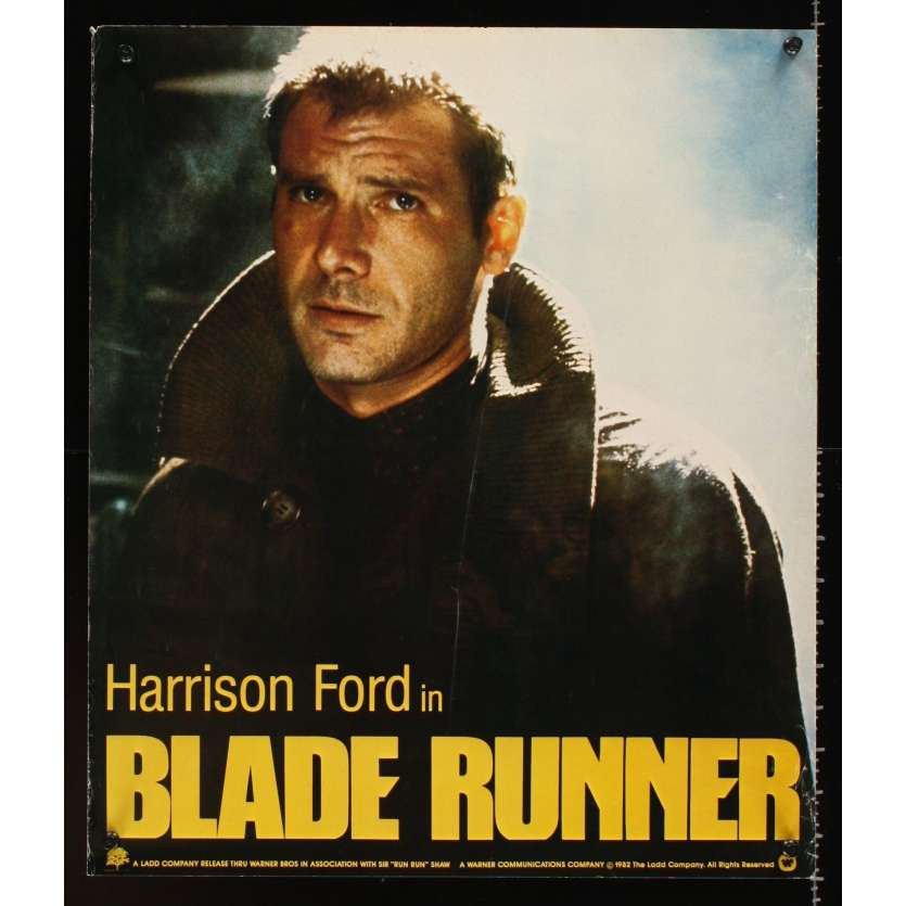 BLADE RUNNER Affiche Advance Super Rare USA '82 Version College