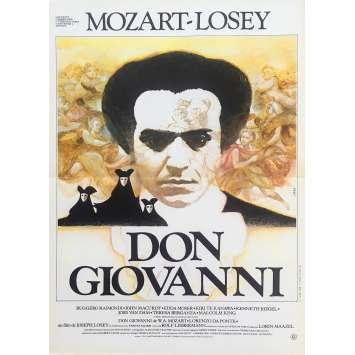DON GIOVANNI Original Movie Poster - 15x21 in. - 1979 - Joseph Losey, Ruggero Raimondi