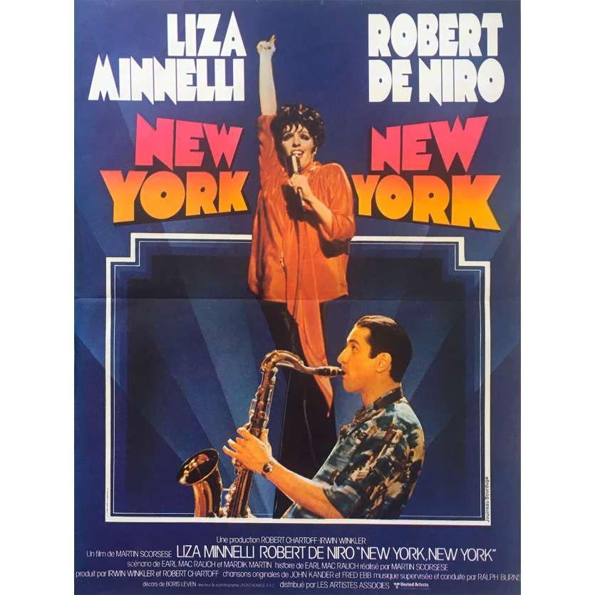 NEW YORK NEW YORK Original Movie Poster - 15x21 in. - 1977 - Martin Scorsese, Robert de Niro