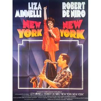 NEW YORK NEW YORK Affiche de film - 120x160 cm. - 1977 - Robert de Niro, Martin Scorsese