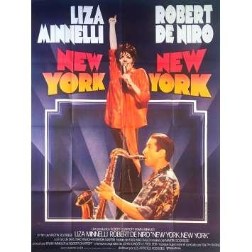 NEW YORK NEW YORK Original Movie Poster - 47x63 in. - 1977 - Martin Scorsese, Robert de Niro