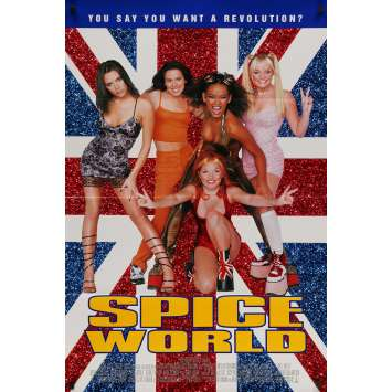 SPICE WORLD Affiche de film - 69x102 cm. - 1997 - The Spice Girls, Bob Spiers