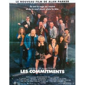 THE COMMITMENTS Original Movie Poster - 15x21 in. - 1991 - Alan Parker, Robert Arkins