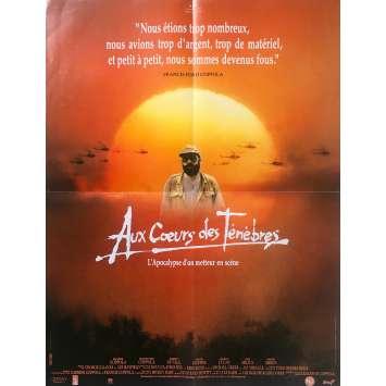 AU CŒURS DES TENEBRES Affiche de film - 60x80 cm. - 1991 - Dennis Hopper, Martin Sheen, Fax Bahr