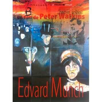 EDVARD MUNCH Affiche de film - 120x160 cm. - 1974 - Geir Westby, Peter Watkins