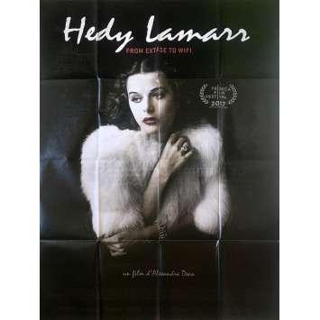 HEDY LAMARR FROM EXTASE TO WIFI Affiche de film - 120x160 cm. - 2017 - Hedy Lamarr, Mel Brooks, Alexandra Dean