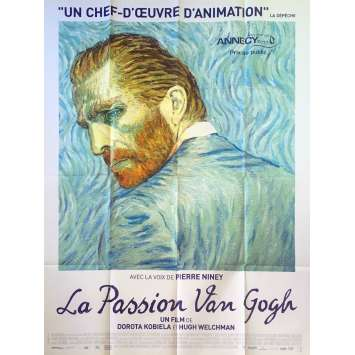 LOVING VINCENT Original Movie Poster - 47x63 in. - 2017 - Dorota Kobiela, Douglas Booth