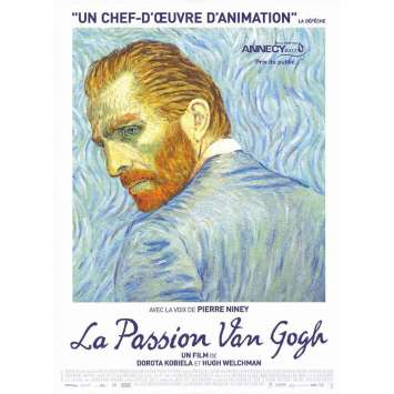 LOVING VINCENT Original Movie Poster - 15x21 in. - 2017 - Dorota Kobiela, Douglas Booth