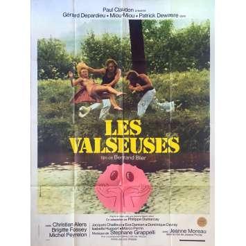 LES VALSEUSES Affiche de film - 120x160 cm. - 1974 - Patrick Dewaere, Gérard Depardieu, Bertrand Blier
