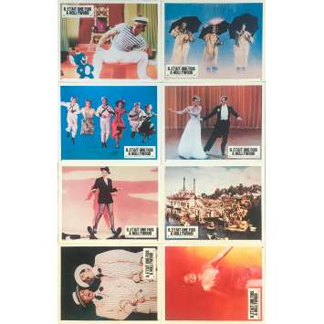 THAT'S ENTERTAINMENT Original Lobby Cards x8 - 10x12 in. - 1974 - Jack Haley Jr, Fred Astaire