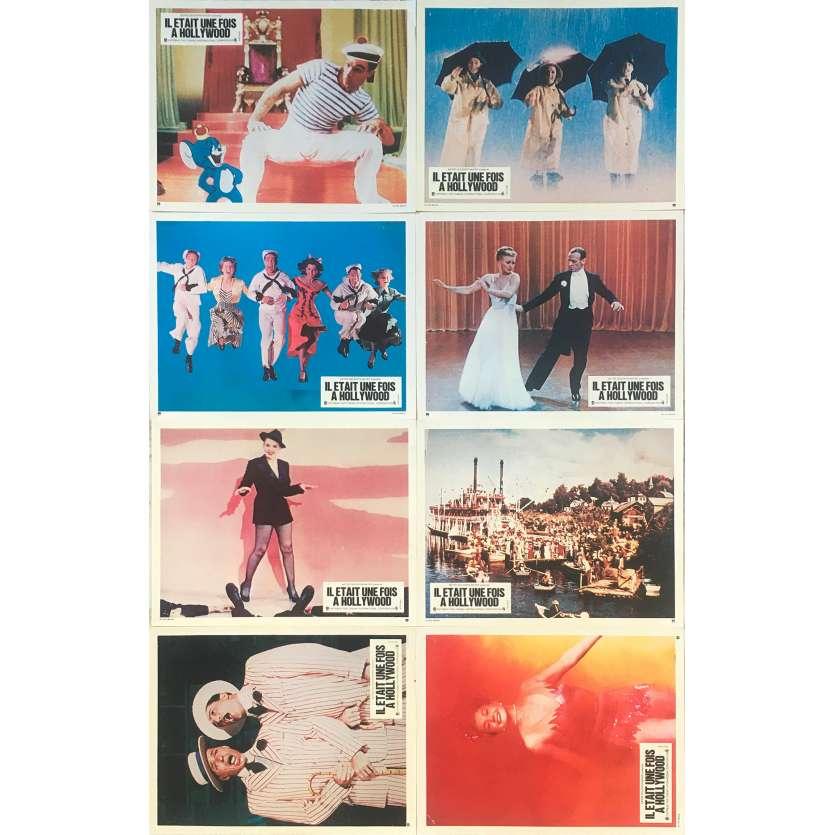 IL ETAIT UNE FOIS HOLLYWOOD Photos de film x8 - 24x30 cm. - 1974 - Fred Astaire, Jack Haley Jr