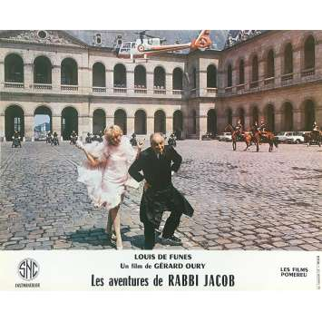 THE MAD ADVENTURES OF RABBI JACOB Original Lobby Card N14 - 10x12 in. - 1973 - Gérard Oury, Louis de Funès