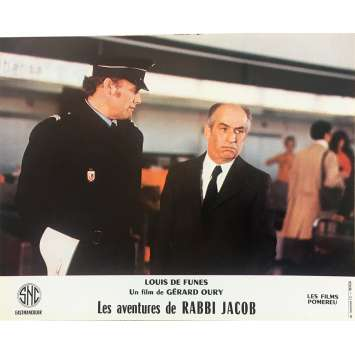 THE MAD ADVENTURES OF RABBI JACOB Original Lobby Card N11 - 10x12 in. - 1973 - Gérard Oury, Louis de Funès