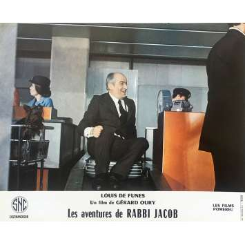 THE MAD ADVENTURES OF RABBI JACOB Original Lobby Card N08 - 10x12 in. - 1973 - Gérard Oury, Louis de Funès