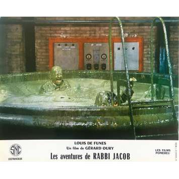 THE MAD ADVENTURES OF RABBI JACOB Original Lobby Card N07 - 10x12 in. - 1973 - Gérard Oury, Louis de Funès