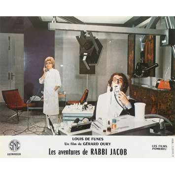 THE MAD ADVENTURES OF RABBI JACOB Original Lobby Card N05 - 10x12 in. - 1973 - Gérard Oury, Louis de Funès