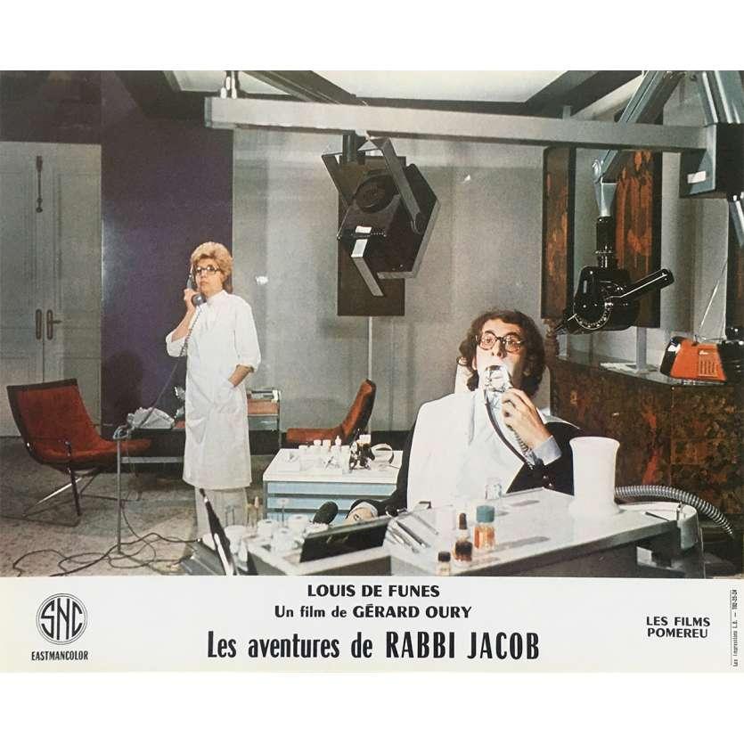 THE MAD ADVENTURES OF RABBI JACOB Original Lobby Card N05 - 10x12 in. - 1973 - Gérard Oury, Louis de Funès
