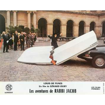 THE MAD ADVENTURES OF RABBI JACOB Original Lobby Card N04 - 10x12 in. - 1973 - Gérard Oury, Louis de Funès