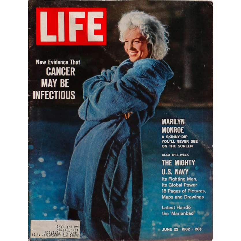 LIFE - 22 JUIN Magazine - 28x36 cm. - 1962 - Marilyn Monroe, 0