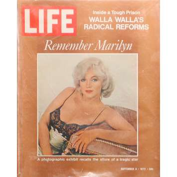 LIFE - SEPT 8 Original Magazine - 11x14 in. - 1972 - 0, Marilyn Monroe