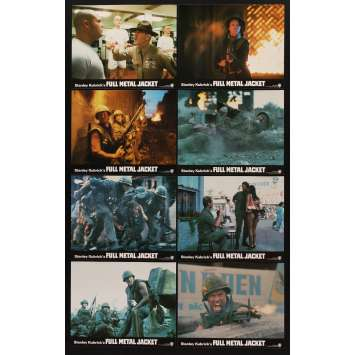 FULL METAL JACKET 8 color English FOH LCs '87 Stanley Kubrick Vietnam War classic, Ermey!