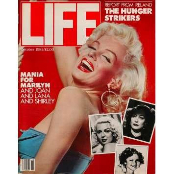 LIFE - OCTOBER Original Magazine - 11x14 in. - 1981 - 0, Marilyn Monroe