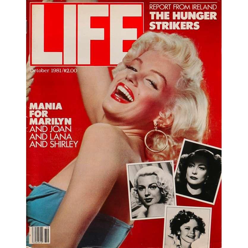 LIFE - OCTOBRE Magazine - 28x36 cm. - 1981 - Marilyn Monroe, 0